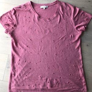 IRO Clay linen t-shirt worn once